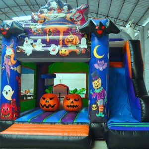 chateau gonflable halloween