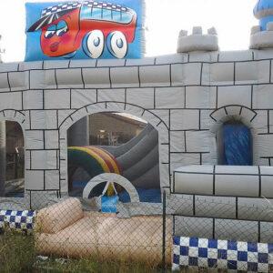 chateau médiéval gonflable