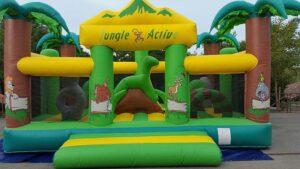 château gonflable jungle toulouse