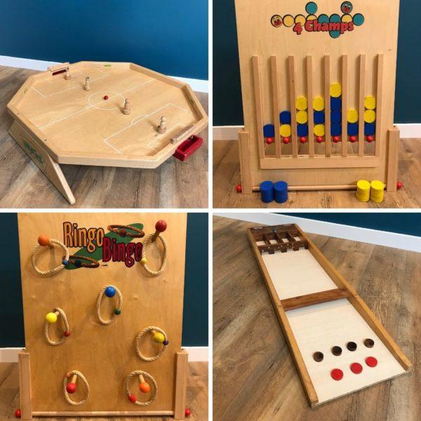 5 Jeux en bois